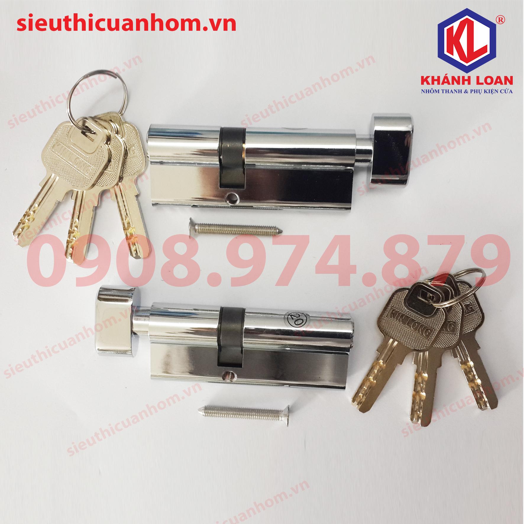 KIL4732T - 3247T -Lõi khóa 1 đầu chìa 1 đầu vặn