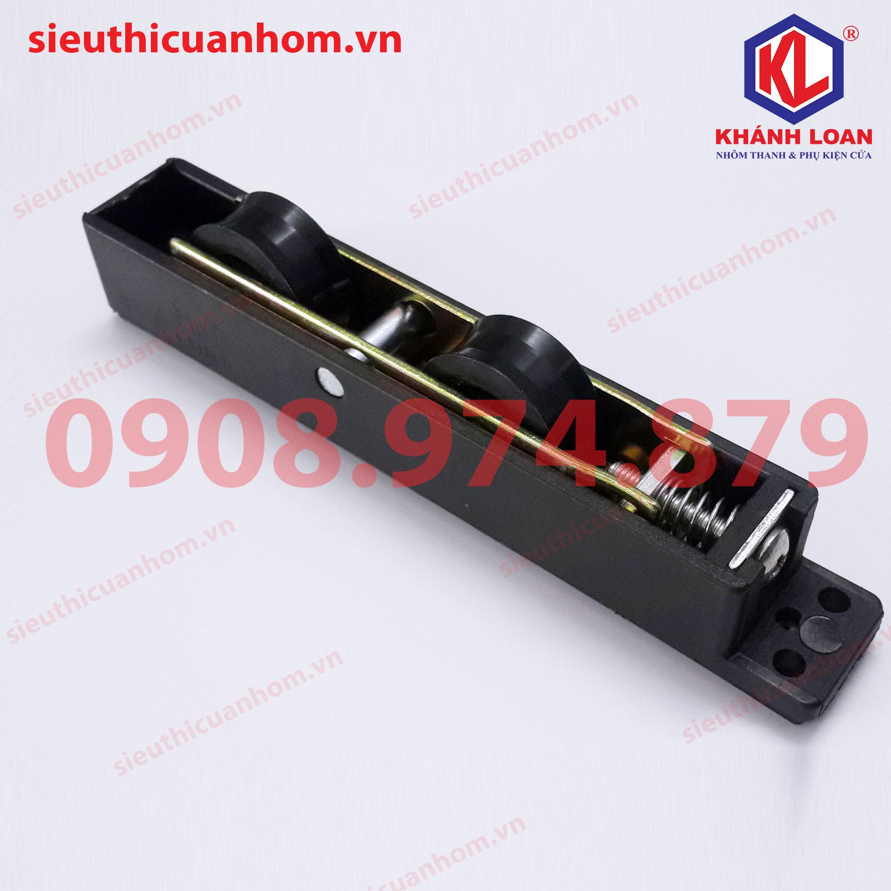 QQ-ML54G23K21-Bánh xe đôi cửa đi lùa 55 nhôm Xingfa nhập khẩu