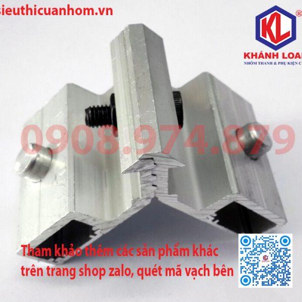 Ke nhảy khung bao cửa đi lùa 55 nhôm Xingfa KN-5501