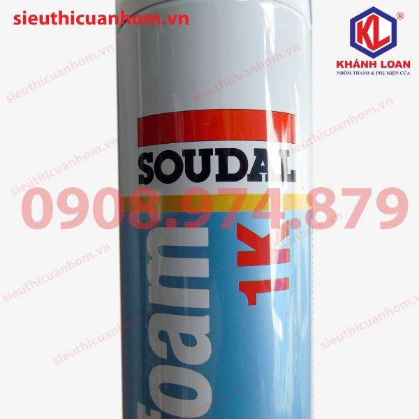 Keo keo bọt nở hiệu SOUDAL Hàn Quốc lắp đặt cửa nhôm cửa nhựa