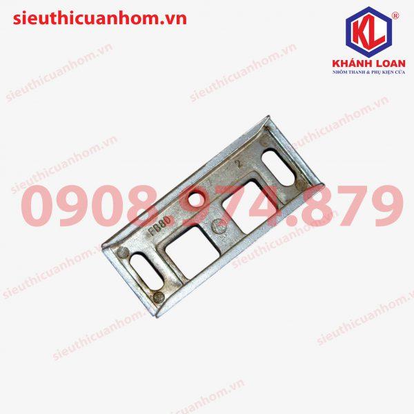 Đế chốt âm không cần cắt rãnh khung bao nhôm Xingfa hệ 55 - SK30A-BR