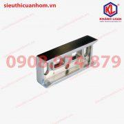 Đế chốt âm không cần cắt rãnh khung bao nhôm Xingfa hệ 55 – SK30A-BR