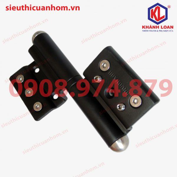 Bản lề cối 2D 155mm hiệu Huy Hoàng dùng cho nhôm Xingfa hệ 55