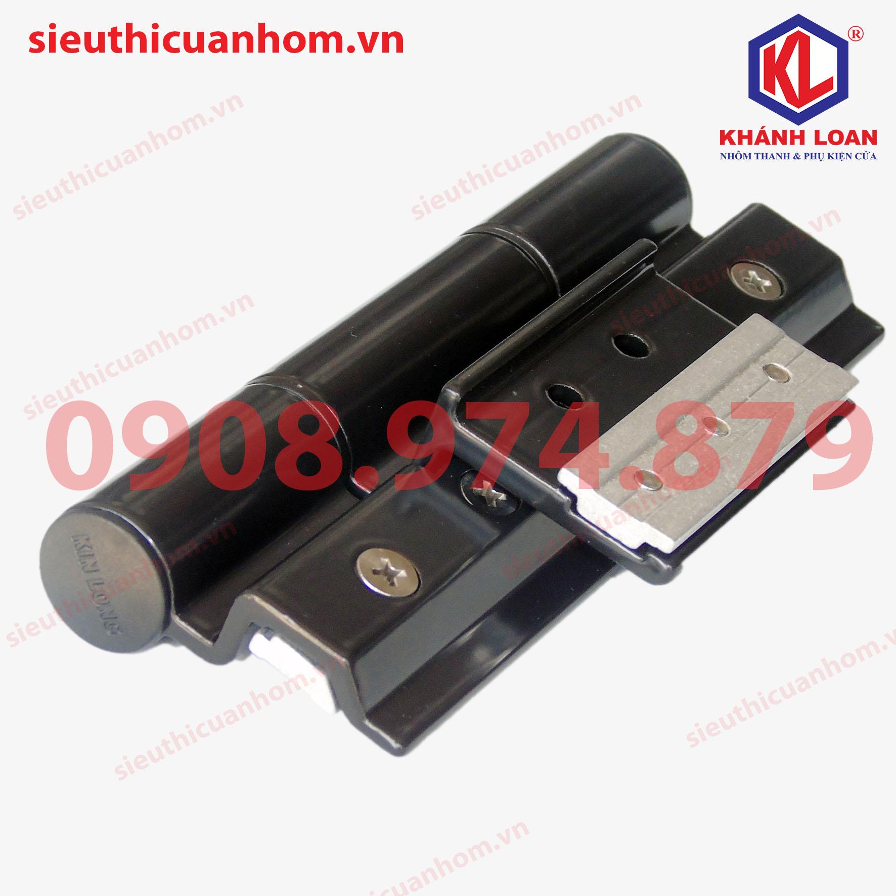 Bản lề 4D dài 150mm nhôm Xingfa hệ 55 hiệu KinLong chính hãng