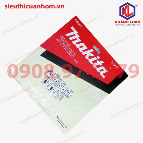Lưỡi cắt nhôm 120 răng hiệu Makita đường kính 255mm