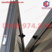 Hít cửa âm dương Size lớn dùng cho cửa nhôm Xingfa cửa gổ cửa nhựa