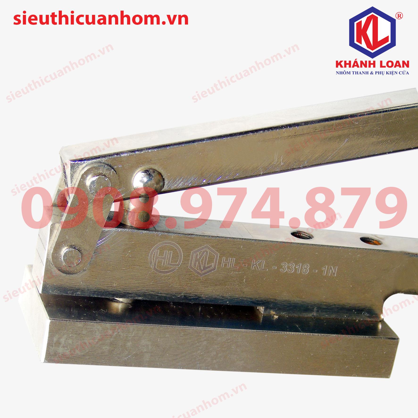 Kềm bấm ke vĩnh cửu khung bao cửa sổ mở 55 cải tiến và mạ kẽm KKVC-HL-KL-3318-1Nloại 1 nút 2 vít