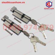 Lõi khóa 1 đầu chìa mở trong và mở ngoài nhôm Xingfa 55 – KIL3247T và KIL4732T