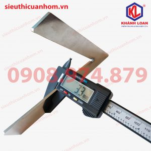 Thước đo ke góc 45 độ và 90 độ đo góc cắt cửa nhôm