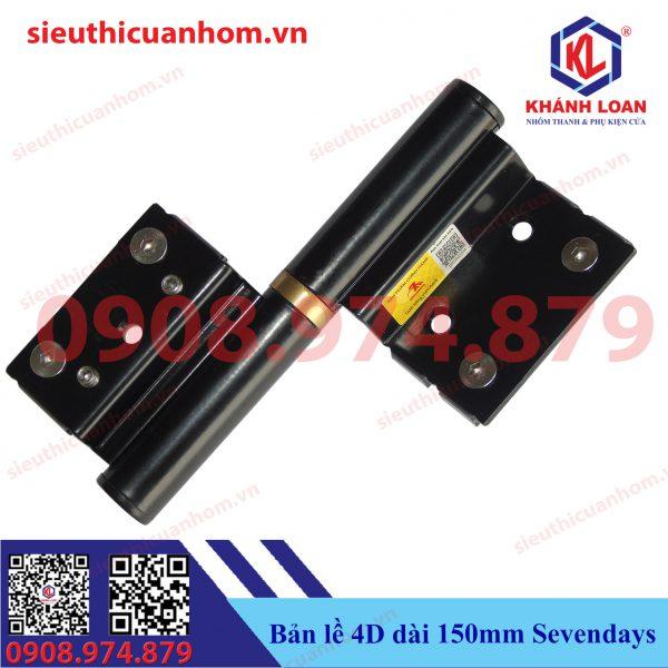 Bản lề lá 2D hiệu Sevendays dùng cho nhôm Xingfa hệ 55
