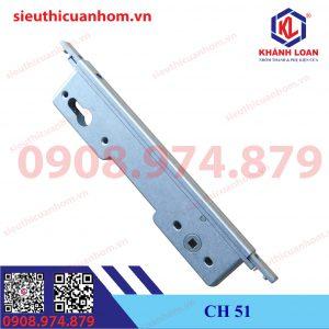 Thân khóa có chìa 2 chiều cửa xếp trượt và cửa lùa Xingfa