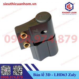 Bản lề 3D cửa đi hệ 55 hiệu Zaly LHD63